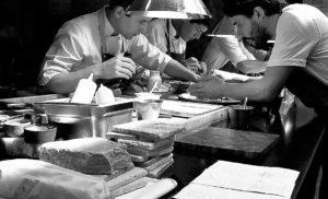 Procesos de montaje en cocina
