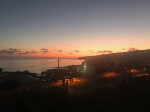 Foto tomada a las 6 de la mañana